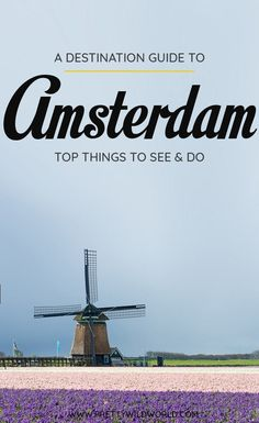 Planning a trip to the beautiful city of Amsterdam, the capital of The Netherlands? Check out this first-timer's guide to Amsterdam that includes all the top things to do in Amsterdam, places to go in…More
