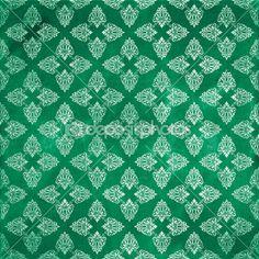 Damask seamless pattern, Damaged fabric like — Stock Photo © dadartdesign #29477573