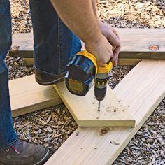 Build an Aldo Leopold Bench