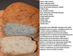 Chleb ryżowo-gryczany bezglutenowy Banana Bread, Gluten Free, Food, Recipies, Glutenfree, Essen, Sin Gluten, Meals, Yemek