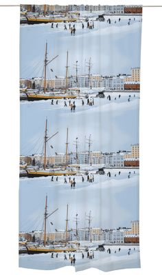 <p>Pohjoisranta-valmisverhon kuosi on toteutettu valokuvaaja Jussi Hellstenin Helsinki-aiheiseen valokuvasarjan pohjalta. Helsingin…