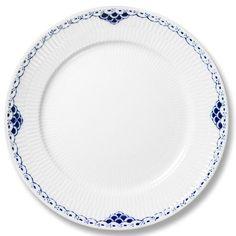 Royal Copenhagen dinner plate in Princess pattern (hand painted).