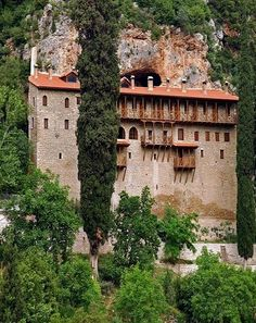 Panagia Chryssopodaritissa Monastery in Achaia, Peloponnese (by thiv56)