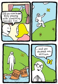 Dark Humor Comics 214 Hilarious Comics With Unexpectedly Dark Endings By 'Perry Bible Fellowship' Really Funny Memes, Stupid Funny Memes, Funny Relatable Memes, Haha Funny, Funny Cute, Funny Texts, Hilarious, Funniest Memes, Dark Humor Comics