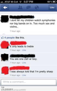 Musical puns #bad #puns