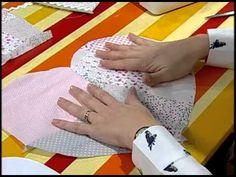 Como hacer un almohadón de corazón - YouTube