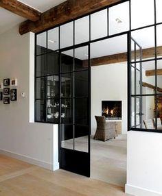 lofty feel...windows instead of a wall