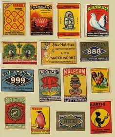 Maggie's Flea Market Finds lots of vintage images love these labels