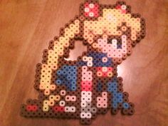 Sailor Moon perler beads!! <3