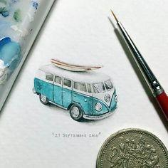 Miniature Paintings by Lorraine Loots #miniature #illustration