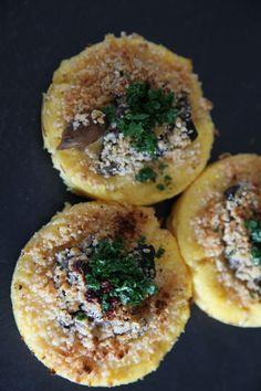 Polenta al parmigiano e funghi | La Casetta delle Pesche