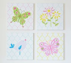Wood Nature Plaques | Pottery Barn Kids