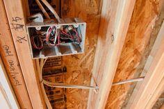 how to wire recessed lighting tabletop walk through basements rh pinterest com basement electrical wiring codes wiring basement electrical