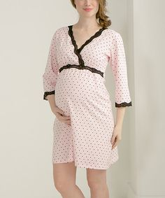 650d1a48813 Another great find on  zulily! Pink  amp  Black Queen of Hearts Kimono  Maternity