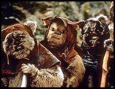A guide to Ewoknese for when your stuck in the forest and don't want to become the Ewok's next meal...