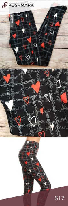 b18faee8d9 Buttery soft leggings depot valentine leggings Buttery soft leggings depot  valentine leggings with a black background