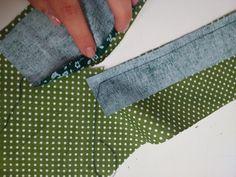 Jak ušít rozparek - domeček na pánské košili | Beruzzka blog