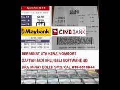 LOTTERY 4D 5D 6D MALAYSIA SOFTWARE