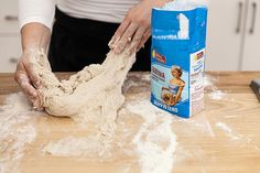 This is one pizza dough recipe you can rely on. Write it down. Stick it in your cupboard. One Pizza Dough Recipe, Easy Pizza Dough, Quick Pizza, Food Processor Pizza Dough, Food Processor Recipes, Pizza Recipes, Cooking Recipes, Taco Lasagna, Small Pizza