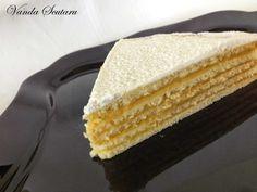 Romanian Food, Romanian Recipes, Homemade Cakes, Homemade Food, Mcdonalds, Recipe Boards, Vanilla Cake, Lidl, Good Food