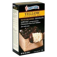 SWEET N LOW MIX CAKE YELLOW 8 OZ ** Click on the image for additional details.(This is an Amazon affiliate link and I receive a commission for the sales)