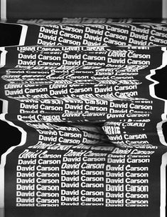 David Carson - Master Classes Grafika on BehanceYou can find David carson and more on our website.David Carson - Master Classes Grafika on Behance David Carson Design, David Carson Work, Poster Sport, Poster Cars, Poster Retro, Graphic Design Posters, Graphic Design Typography, Typography Layout, Poster Festival