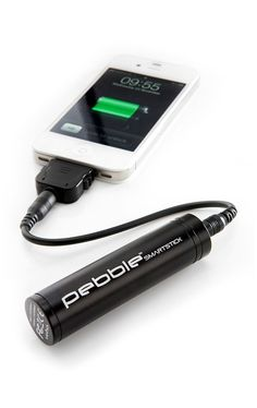 Portable Smartphone Charger - works with iPhones and Androids and other mobile devices More at http://atechpoint.com/ #tech #atechpoint
