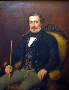 Pelegrín Clavé (1811-1880) Retrato de caballero Óleo sobre tela Colección Museo Franz Mayer 1862 México