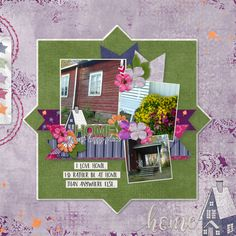 Banner Play volume 10 and Let's Stay Home by Connie Prince Lets Stay Home, November 2019, Site Design, Flourish, Candy Cane, Digital Scrapbooking, Overlays, Layouts, Digital Art