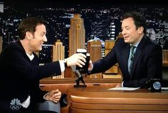 Jimmy Fallon tonight show march 17 2016 cheers clive owen  copyright jimmy fallon tonight show
