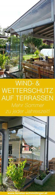 windgeschtzter sommergarten mit glsern zum schieben pergolas and balconies - Wintergartendesigns