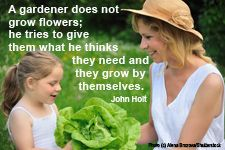 Great list of quotes about homeschooling/unschooling.
