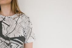 Citee Fashion - maps on tshirts | caughtacute