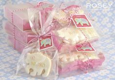 BABY SHOWER COOKIE GIFT by rosey sugar, via Flickr