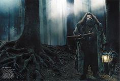 geeksturr:  Annie Leibovitz's Harry Potter Portfolio, October 2001