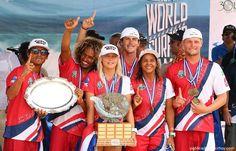 Selección de lujo en busca del oro en el Mundial de Surf