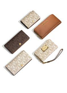 The Michael Michael Kors slim wallet.