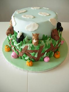 If I can ever make this or something similar then I can safely say I have a new cake hobby :)