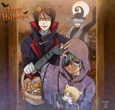 Ciel, Sebastian & Undertaker | Kuroshitsuji / Black Butler