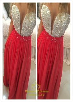 vampal.co.uk Offers High Quality Hot Pink Strapless Sweetheart Backless Beaded Mermaid Prom Dress ,Priced At Only USD $169.00 (Free Shipping)