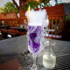 Love this just got our new bottles in from Vapour Mixology Pure Blue @canonseattle  #Repost @seattletimes: Seattles hidden patios: 5 places to drink without the crowd.  One place on the list includes Canon's 25-seat patio where you can enjoy a cocktail such as Magic: The Gathering  made of gin dimmi orange cava butterfly pea flower and magic. ( by Greg Gilbert/The Seattle Times)
