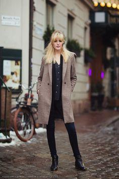 fashion-clue:  www.fashionclue.net  Street Style Stockholm