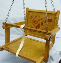 Vintage Toys Swing N' Sing Vintage Wooden Baby Infant Toddler Children Tree Porch Toy These really hurt when they swing back and catch you in the teeth. Porch Toys, Retro Toys, Vintage Toys, Caravan, Childrens Swings, Wood Swing, Toddler Biting, Baby Swings, Thing 1
