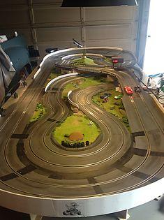 Ho Slot Cars, Slot Car Racing, Slot Car Tracks, Slot Car Race Track, Race Tracks, Auto Racing, Videos Fun, Car Videos, Las Vegas