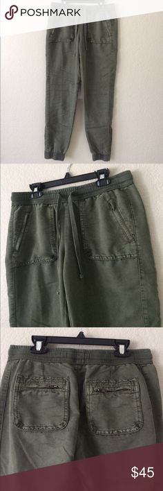 Anthropologie Marrakesh Pants Stetch waist band, measures 15. Rise 9, inseam 29. No trades, no holds no modeling, posh only. Anthropologie Pants