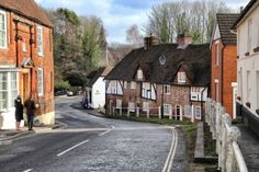 4th February 2014. Bridge Street in Wickham, Hampshire.