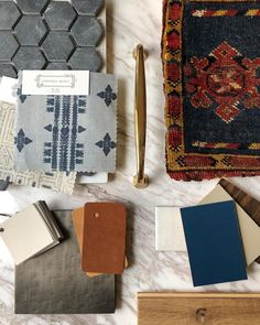 If we're betting, I'll take your Monday blues, and raise you a big dose of vintage rug goodness. Touches of brass, leather, and the perfect…