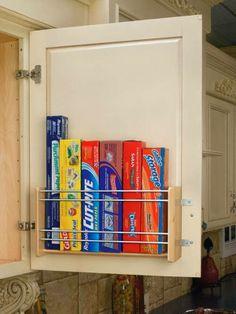 Ideia para organizar armários...