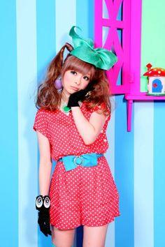 so Kyary Pamyu Pamyu Grunge Style, Soft Grunge, Tokyo Street Fashion, Japanese Street Fashion, Harajuku Girls, Harajuku Fashion, Kawaii Fashion, Le Happy, Mori Girl