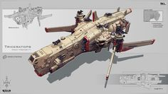 "Awesome Spaceship Concepts by Alexey ""Karanak"", Russia"
